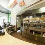 Baja Fresh Food Service Area