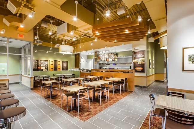Noodles Glen Burnie Dining Area