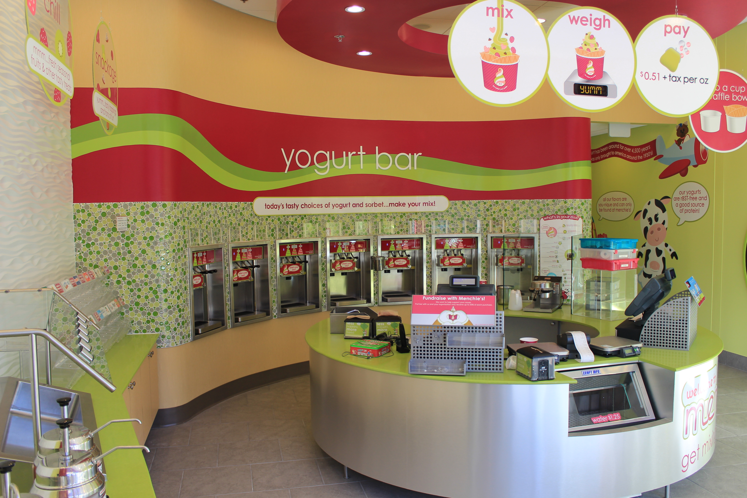 commercial urbanbuilt page  brand new menchie s frozen yogurt set to open in towson square