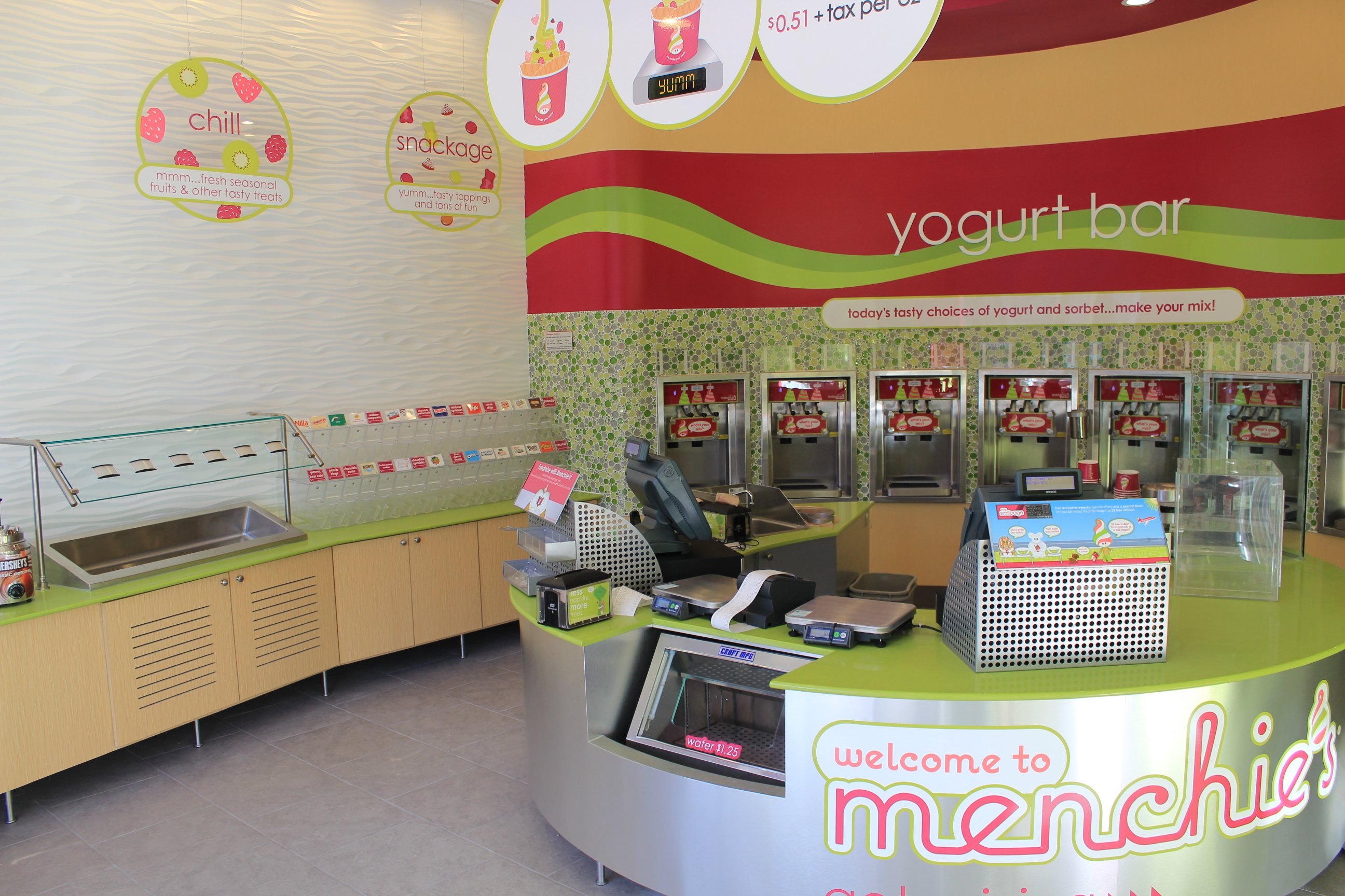 commercial urbanbuilt page  new construction of the menchie s frozen yogurt in towson square is complete and it is ready for business towson square is the perfect location for a
